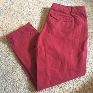 LOFT size 10P red pant